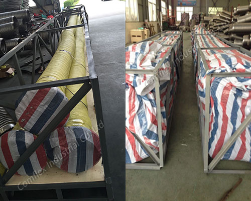 Comflex Industrial Co.,Ltd package & delivery of flexible metal hose in China