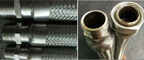 Comflex Double-Braided-Metal-Hose-with-NPT-Fitting