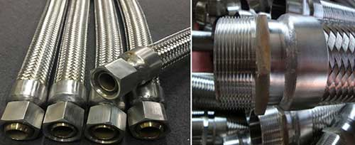 CComflex Double-Braided-Metal-Hose-with-NPT-Fitting
