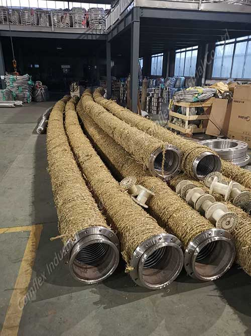 Comflex Industrial Co.,Ltd Extremely-Flexible-Corrugated-Stainless-Steel-Industrial-Hose from China