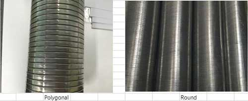 Comflex Industrial Co.,Ltd Stainless-Steel-Flexible-Interlock-Exhaust-Pipe