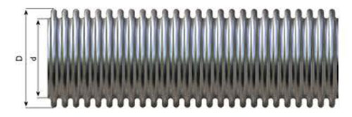 Comflex Stainless-Steel-Flexible-Omega-Type-Metal-Hose