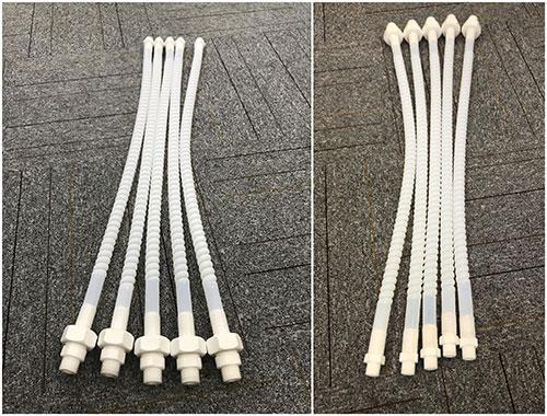Comflex corrugated-PTFE-hose