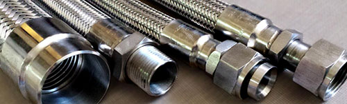 Comflex flexible-metal-hose-with-different-fittings