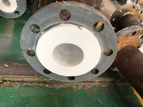 Comflex Industrial Co.,Ltd PTFE Lined Concentric/Eccentric Reducer Pipe